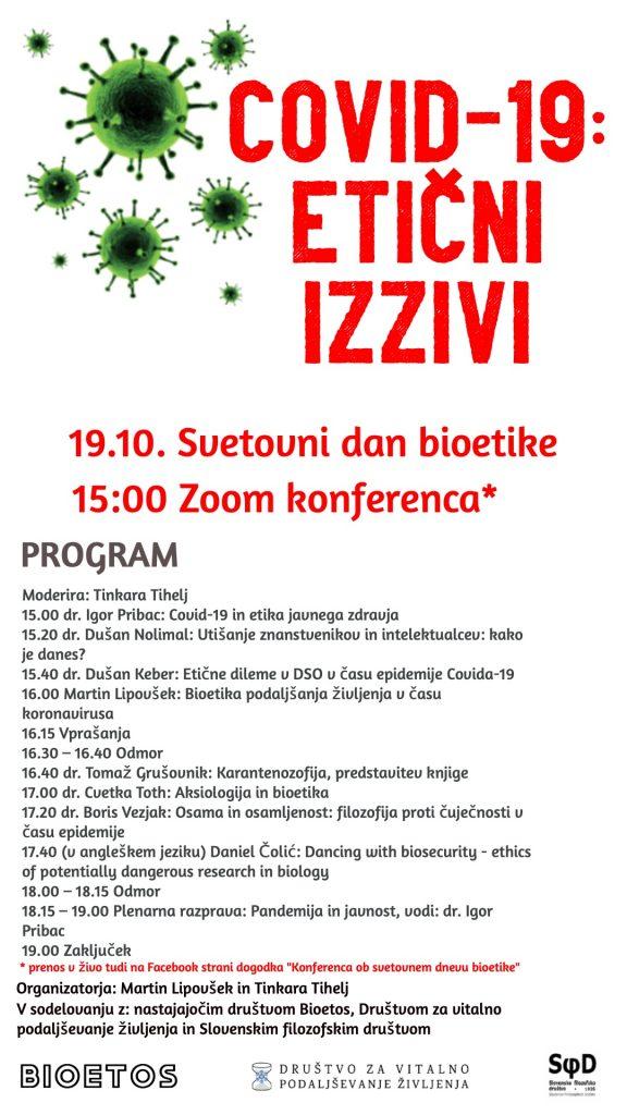 Konferenca ob svetovnem dnevu bioetike